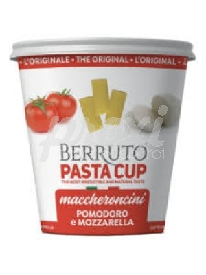 PASTA CUP MACCHERONCINI TOMATE ET MOZZARELLA 70 G