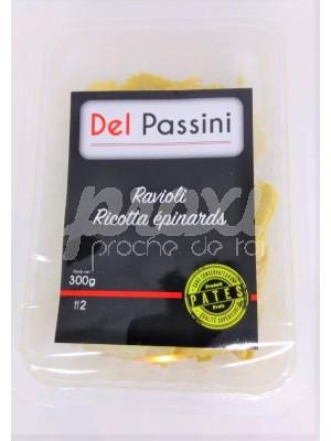 DEL PASSIN RAVIOLI RICOTTA EPINARD 300 G