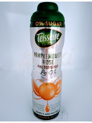 TEISSEIRE SIROP ZERO SUCRES PAMPLEMOUSSE 60 CL
