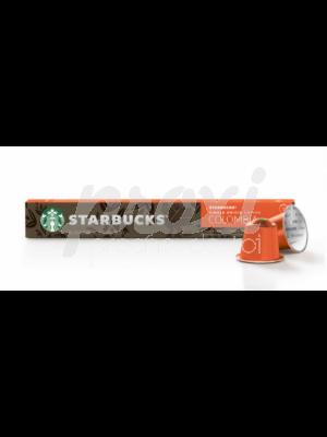 STARBUCKS COLOMBIA COFFEE CAPSULES *10