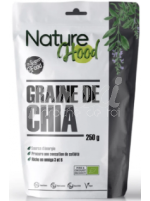 NATURE HOOD GRAINE DE CHIA 250G