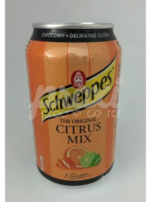 SCHWEPPES THE ORIGINAL CITRUS MIX 330ML