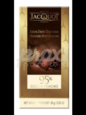 JACQUOT CHOCOLAT NOIR 95% CACAO 100G