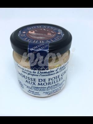 MOUSSE DE FOIE GRAS AUX MORILLES 90G