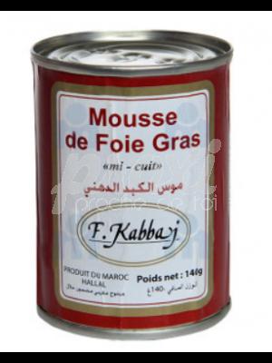 F KABBAJ MOUSSE DE FOIE GRAS DE CANARD 140G