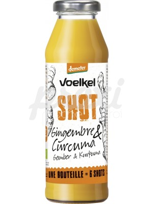 VOELKEL GINGEMBRE CURCUMA SHOT 28 CL