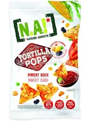 CHIPS TORTILLA POPS SWEET CHILI 80G