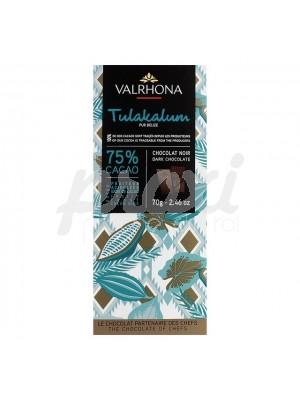 VALRHONA TULAKALUM 75% CACAO 70 G
