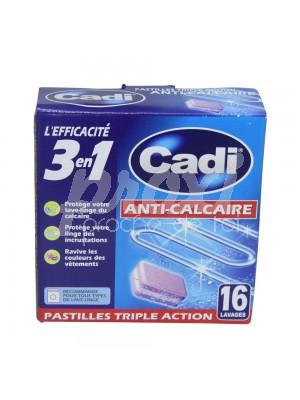16 PASTILLES ANTI CALCAIRE 3*1  256 G