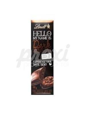 HELLO BARRE DE CHOCOLAT NOIR FOURRÉE COOKIES NOIRS ET CRÈME 100G