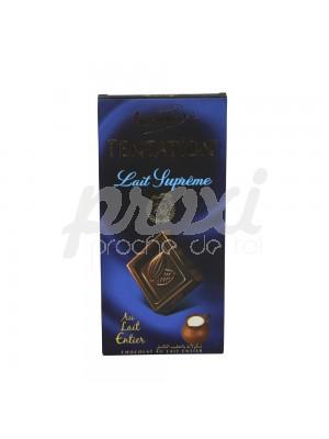 TENTATION LAIT SUPRÊME CHOCOLAT AU LAIT ENTIER 100 G