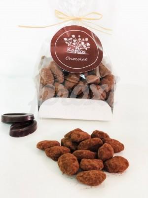 KARMOS AMANDES CACAOTEES AUX CHOCOLAT NOIR 70% 250 G
