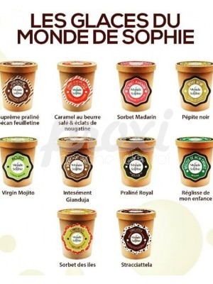 MONDE SOPHIE GLACE 500 ML