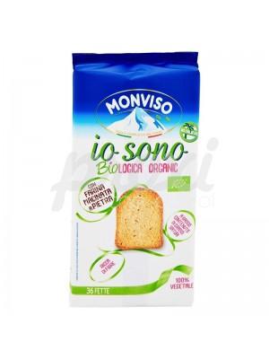 MONVISO IO SONO BIOLOGICA  TOAST  255 G