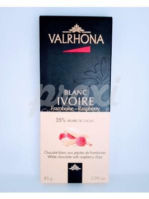VALRHONA BLANC IVOIRE 35% CACAO 85 G