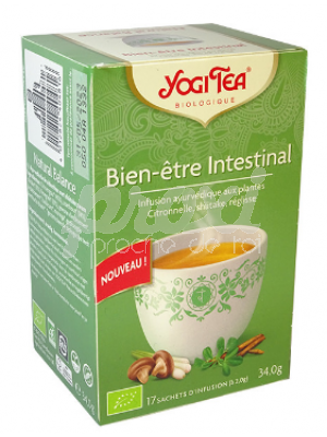 YOGI TEA BIEN-ETRE INTESTINAL 17* SACHETS