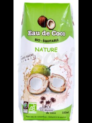 LA MAISON DU COCO EAU DE COCO SANS SUCRE 33CL