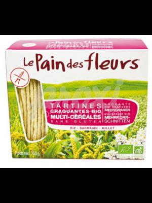 LE PAIN DES FLEURS MULTI-CEREALES 150G
