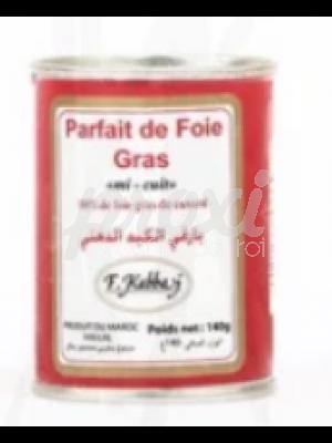 F KABBAJ PARFAIT DE FOIE GRAS MI-CUIT 140G