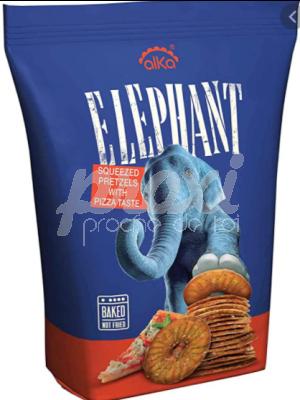 ELEPHANT PRETZELS PIZZA TASTE 180G