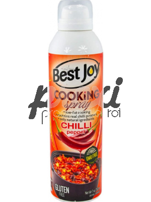 BEST JOY COOKING SPRAY CHILI GLUTEN FREE 250ML