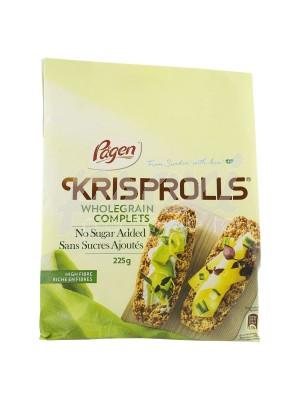 KRISPROLLS PAIN SUEDOIS COMPLET SANS SUCRE 225G