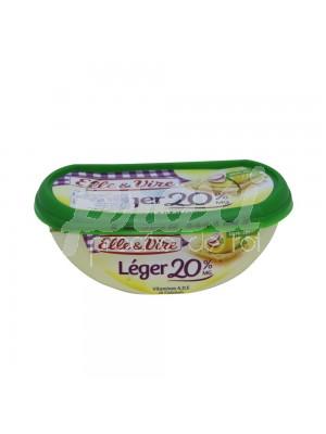 BEURRE LÉGER DEMI-SEL  20% 250 G
