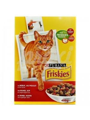 CHAT BOEUF&POULET 400 G