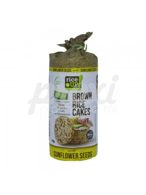 BROWN  RICE CAKE SUNFLOWL SANS GLUT 120 G